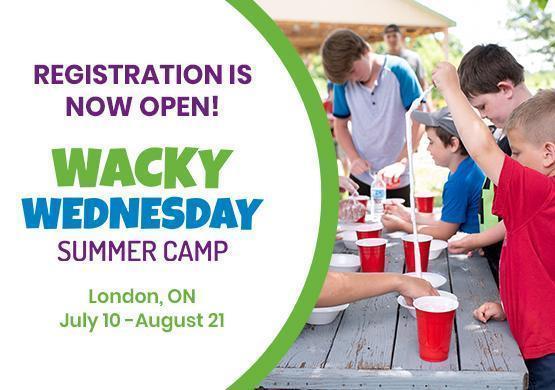 Wacky Wednesday Registration Now Open