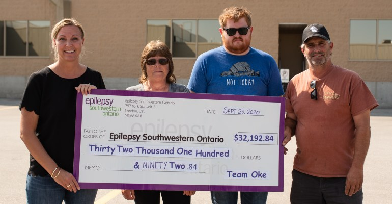 Tee'in Off For Epilepsy Thank You