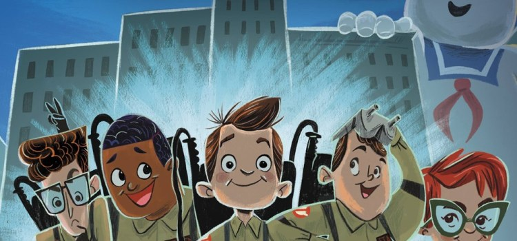 Ghostbusters: A Paranormal Picture Book adapted by G. M. Berrow