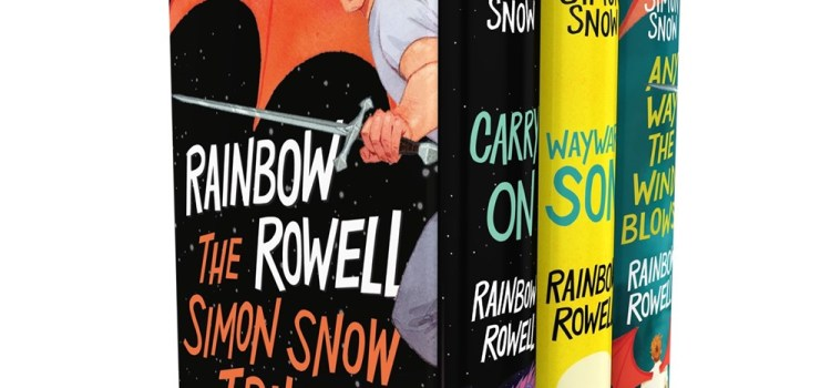 Simon Snow Boxed Set : Wayward Son, Carry On, Any Way the Wind Blows by Rainbow Rowell