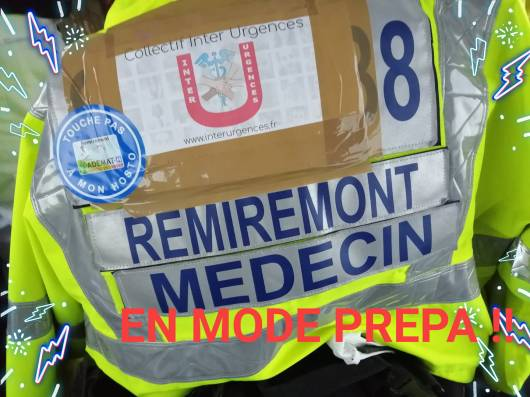 Photos par la page Facebook Urgences en colère Remiremont