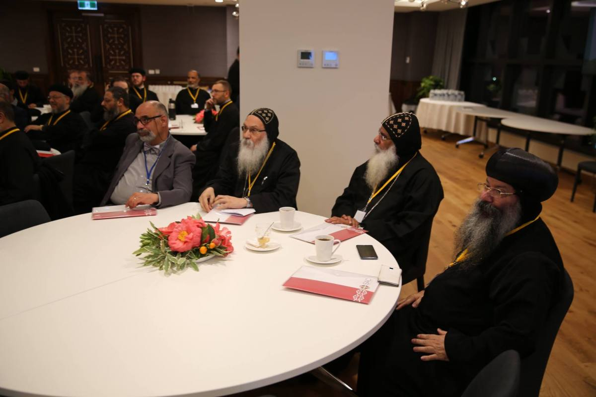 During the conference of Copts in Modernity Melbourne