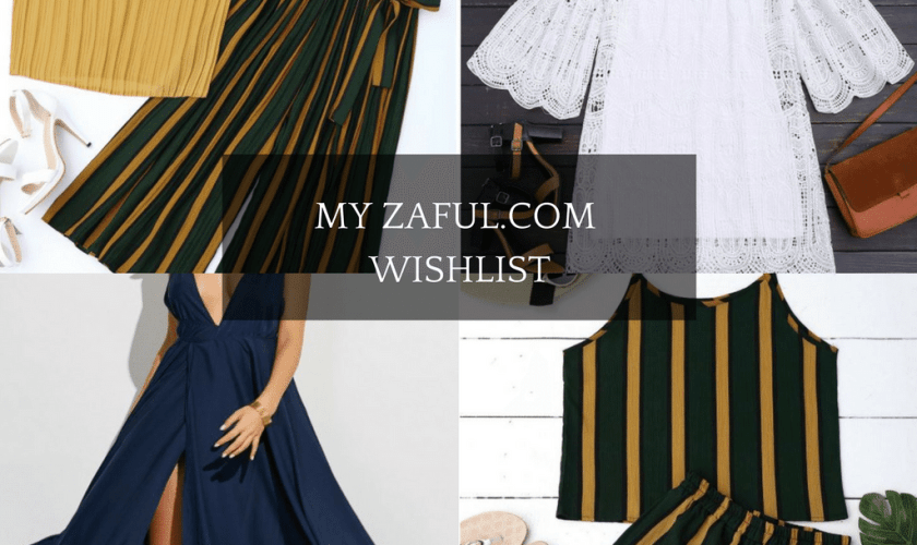 The Bell Sleeve Dress – Zaful.com wishlist