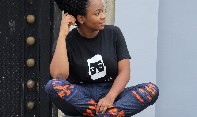 Inscription Tees & Distressed Ankara Pants + Giveaway [Closed]