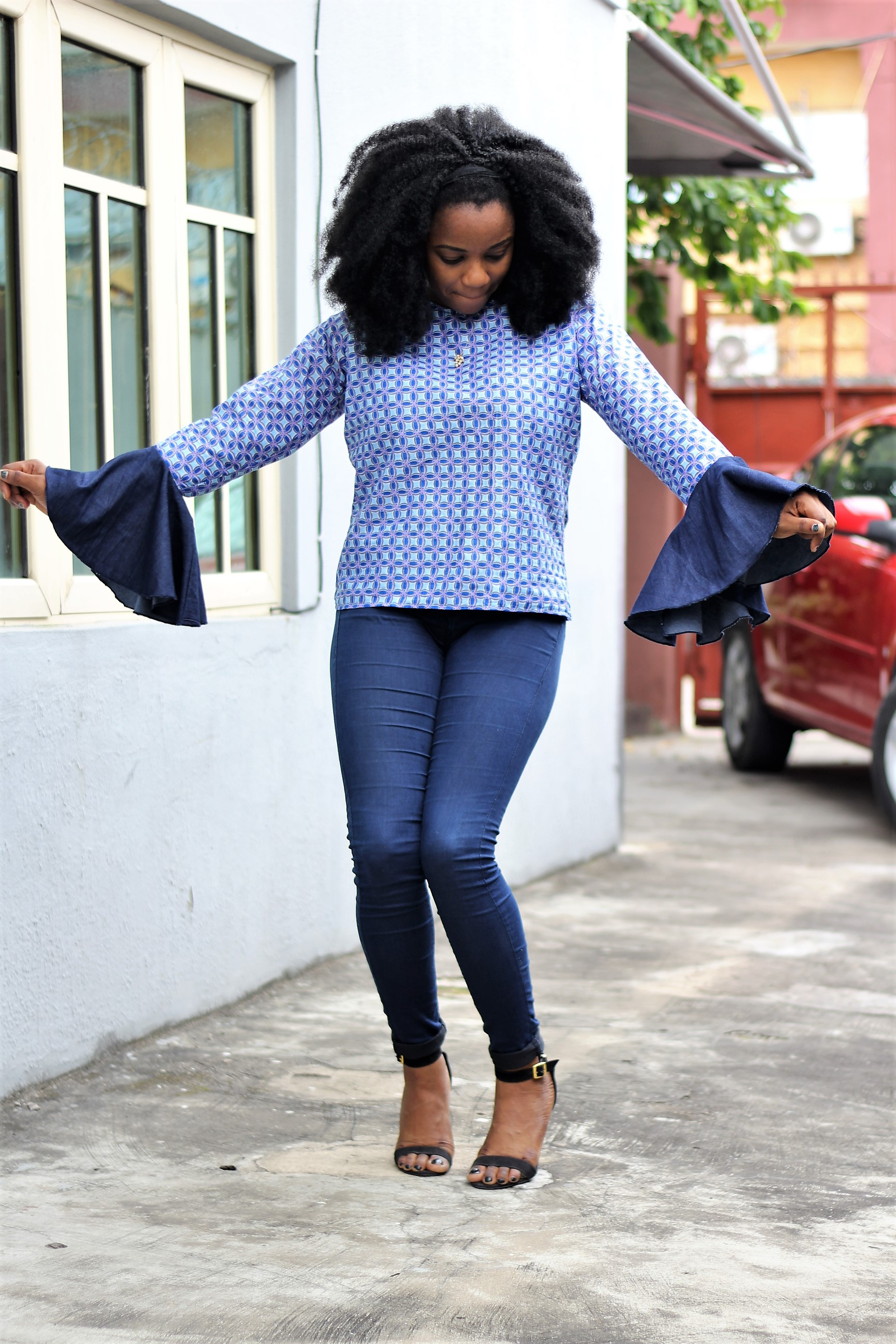 Bell Sleeves, Ankara & Denim
