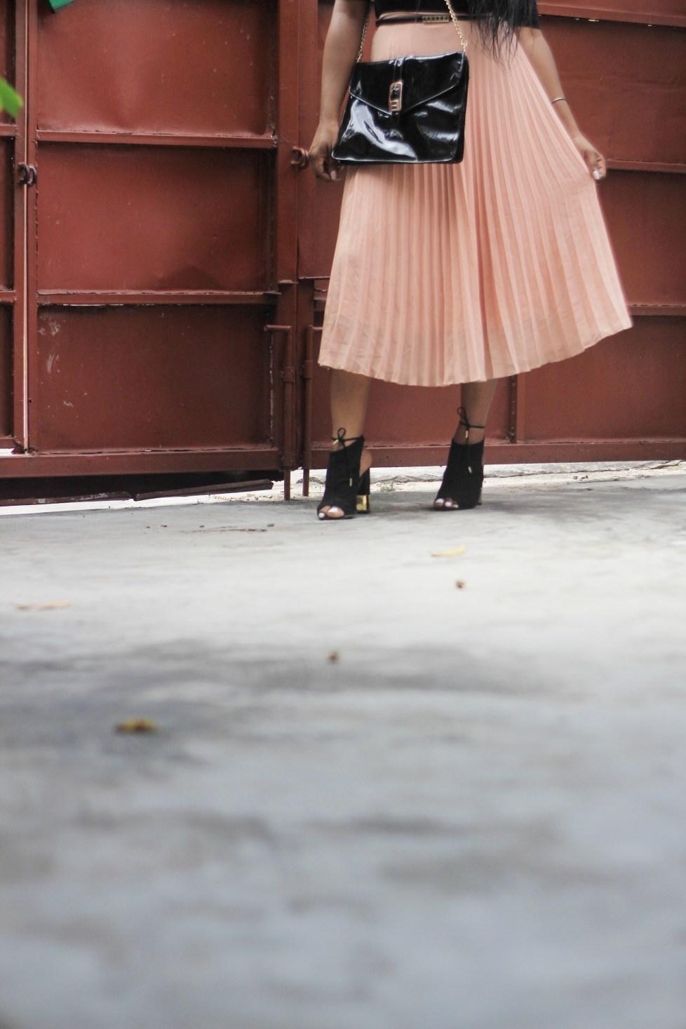 Pleated Skirts