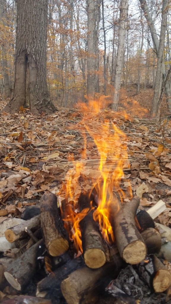 Pottery fire Ways of the Earth
