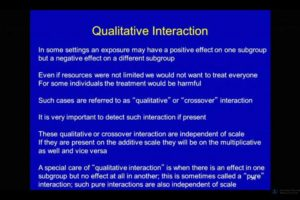 SERtalks - New York, Interaction Analysis Part One