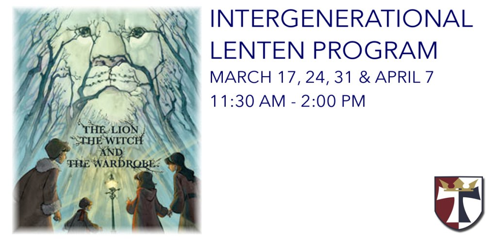 Intergenerational Lenten Series, Starts March 17
