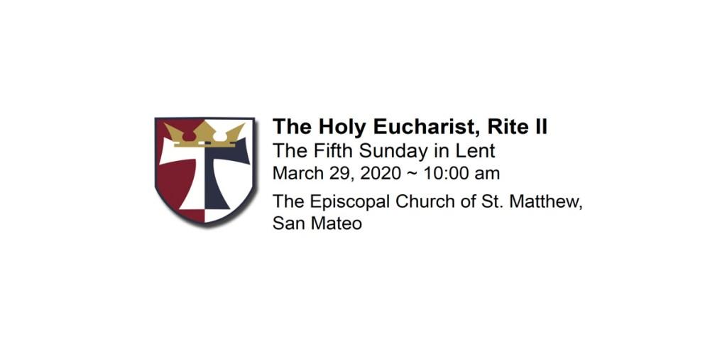 Sunday Service, March 29, 2020