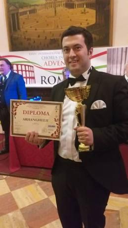 Premierea Corului si a dirijorului Ioan Marius Popa