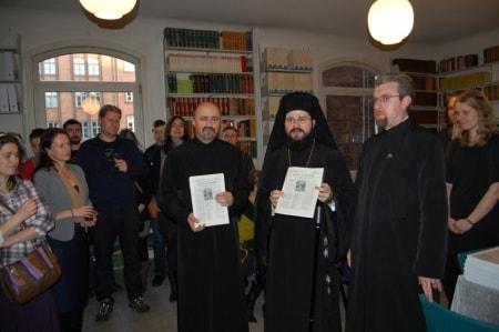 Slujire arhierească în parohia ortodoxă română din orașul Aarhus, Danemarca