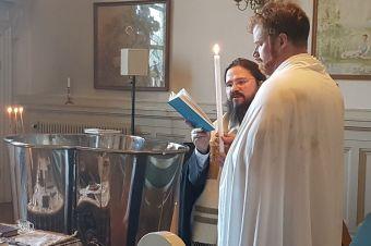 Bucuria nașterii întru Hristos a unui tânăr suedez