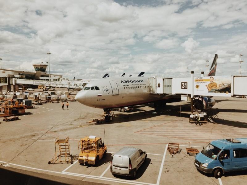 Airport Scheremetjewo Moscow