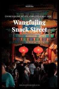 Peking Beijing Wangfujing Snack Street I