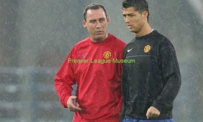 Rene Meulensteen Cristiano Ronaldo