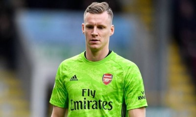 Bernd Leno at Arsenal