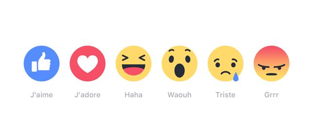 le nouveau j aime de facebook