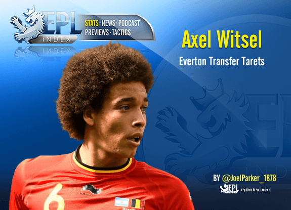 Everton Transfer Targets #1 Axel Witsel