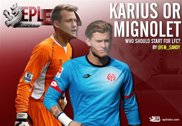 1abe782a6d2 Loris Karius or Simon Mignolet - Who should start for LFC? - EPL ...