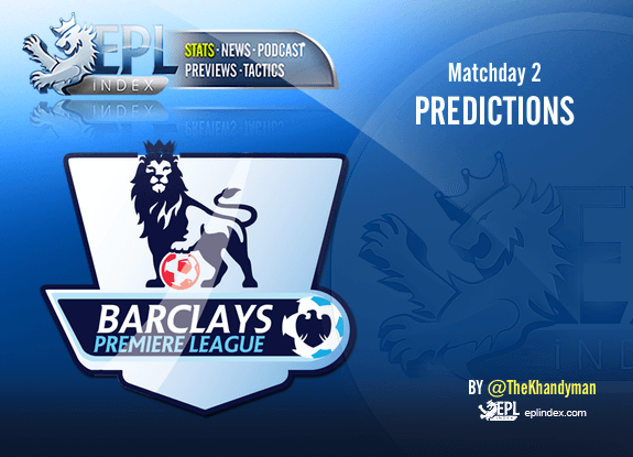 Premier League Matchday 2: Score predictions for every game - EPL