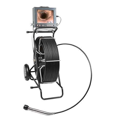 A durable solution for camera inspecting 3 inch to 12 inch lines