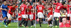 Manchester United 4 Leicester 1