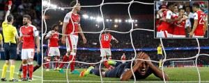PSG 1 Arsenal 1