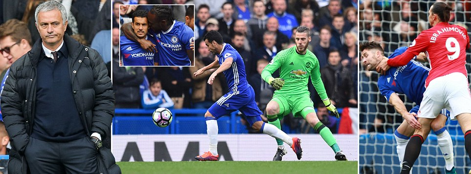 Chelsea 4 Manchester United 0