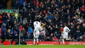 Liverpool vs Swansea January 2017