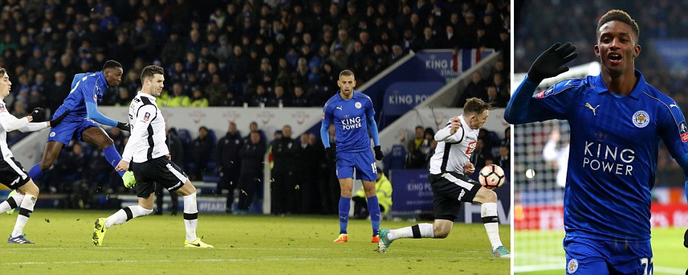 Highlights: Leicester City 3 - 1 Derby County