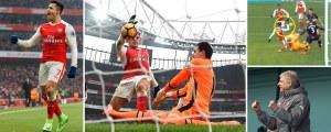 Arsenal 2 Hull 0