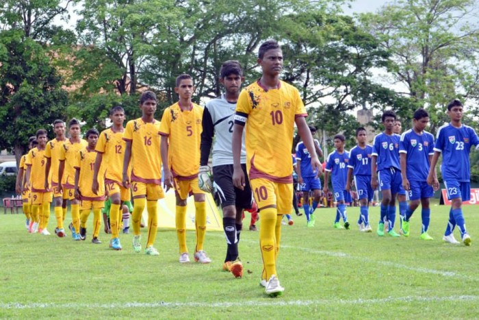 Sri Lanka U-16 Team