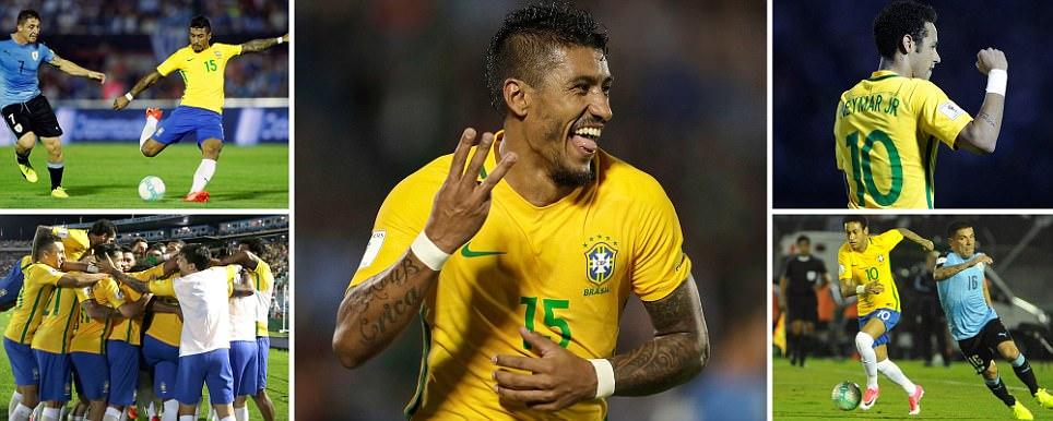 brazil 4 uruguay 1