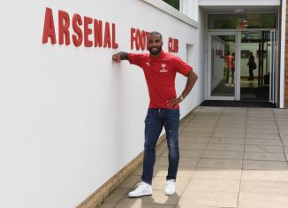 Lacazette at arsenal