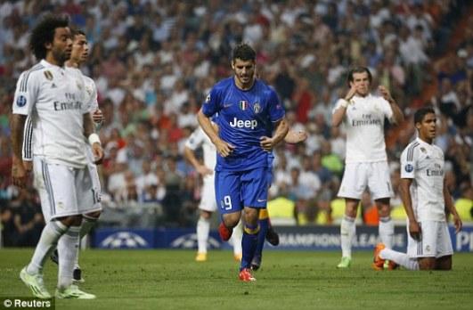 Morata goal vs real madrid