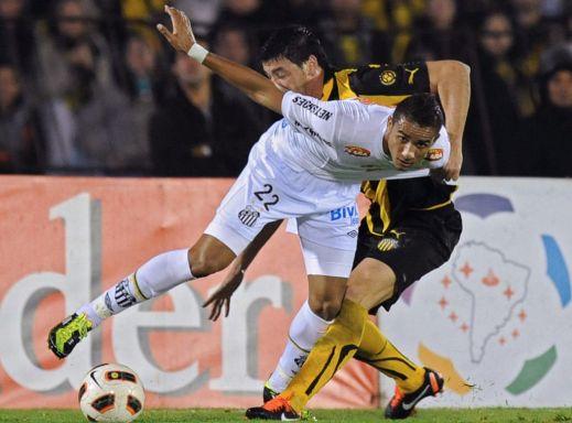 Danilo at Santos