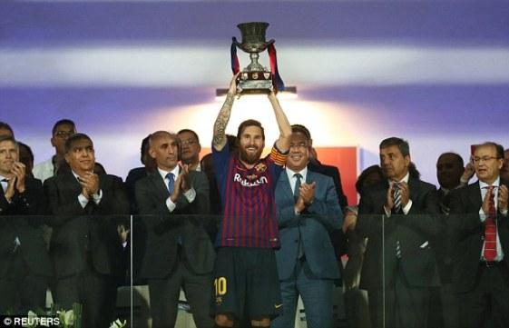 Messi Spanish Super cup
