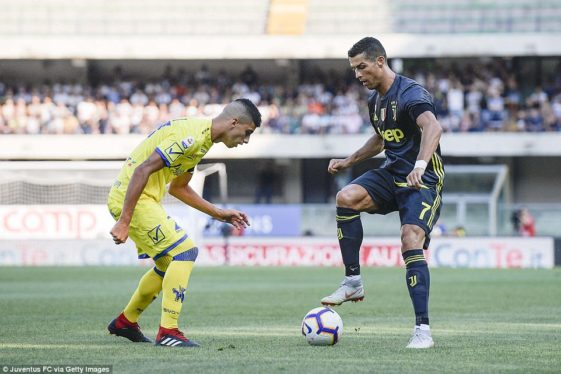 Ronaldo Juventus debut Serie A