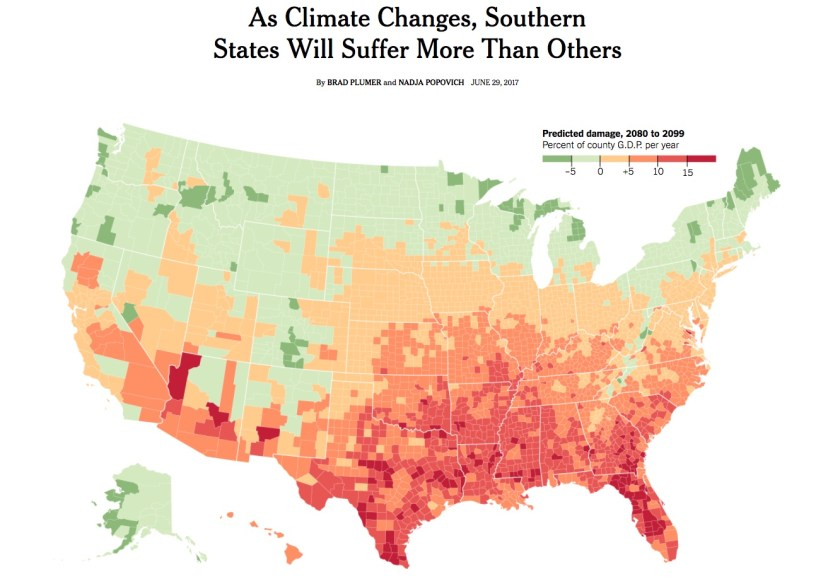 Economic Impact of Climate Change - NYT