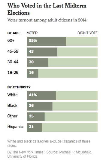 Chart - Who voted in 2014 midterm - NYT - 2018-02-28
