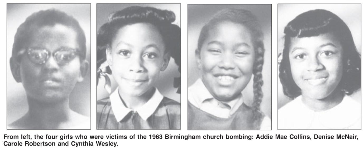 Birmingham memorial service remembers 4 little girls | Richmond ...