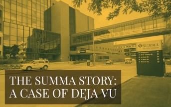 Editor's Opinion: A Case of Deja Vu