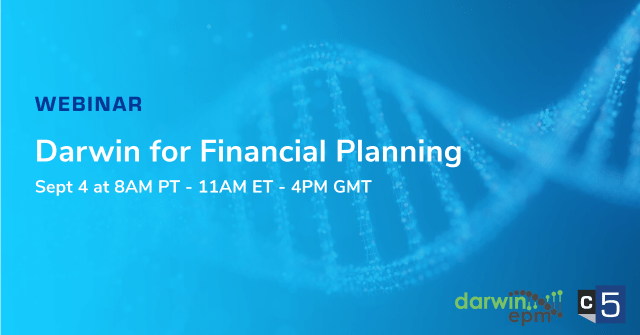 Darwin Webinar Series Part 2 – Darwin for Financial Planning