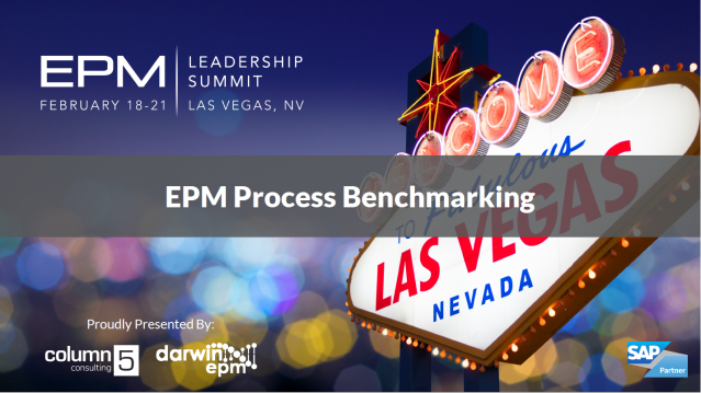 EPM Process Benchmarking