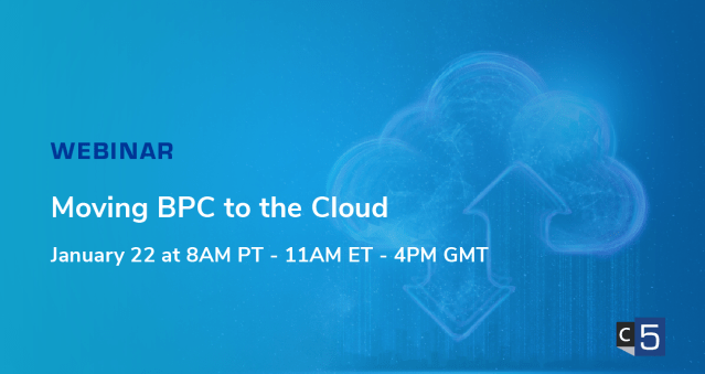 Roadmap Series Part 4: Moving BPC to the Cloud