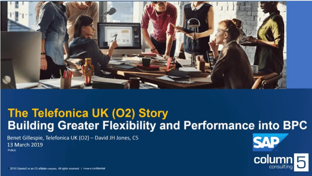 How Telefonica UK (O2) built greater flexibility and performance into their BPC solution