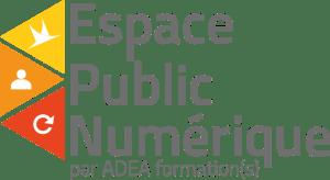 Logo EPN ADEA Ain Formation Numérique Auvergne Rhône Alpes