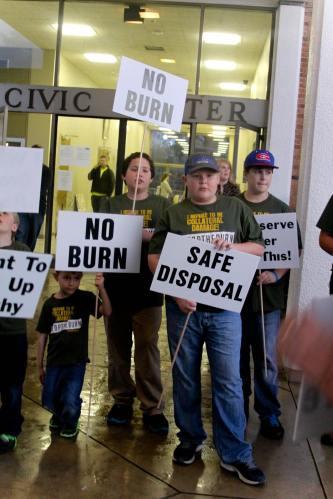 No Burn Safe Disposal Kids