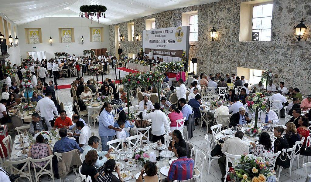 Este 7 de junio Club de Periodistas de México conmemora el Día de la Libertad de Expresión en el Estado.